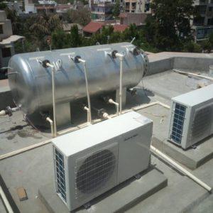 Suntec Heat Pump 10KWx2 2000 Ltrs.