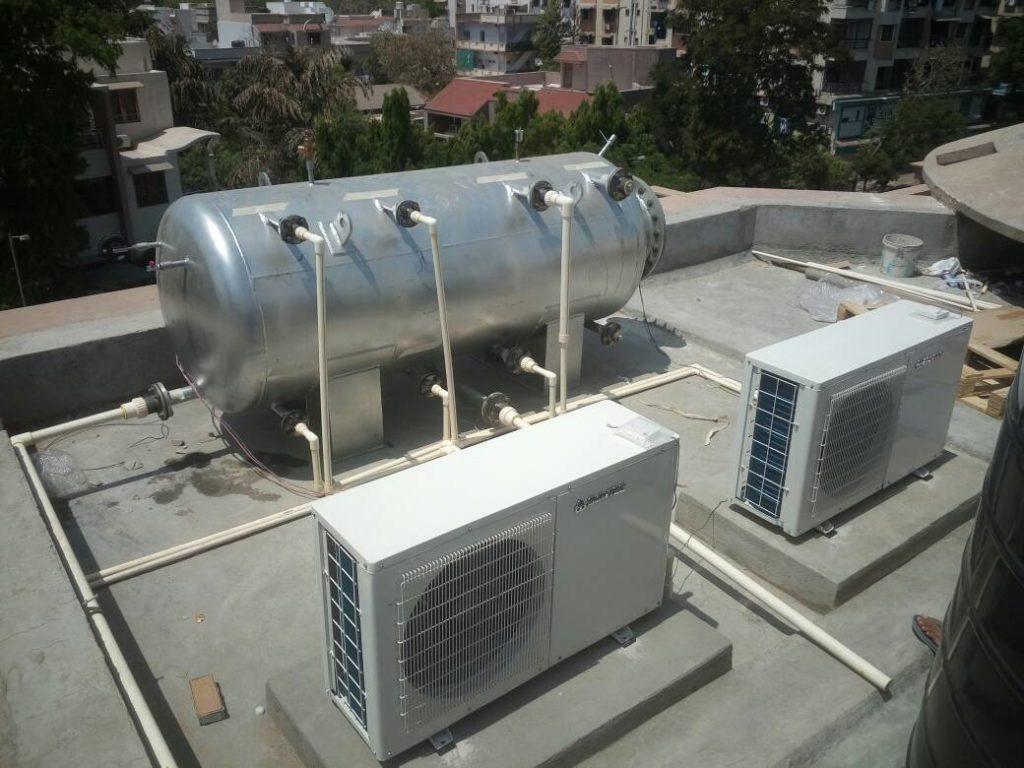 Suntec Heat Pump 10KW 1000 Ltrs.
